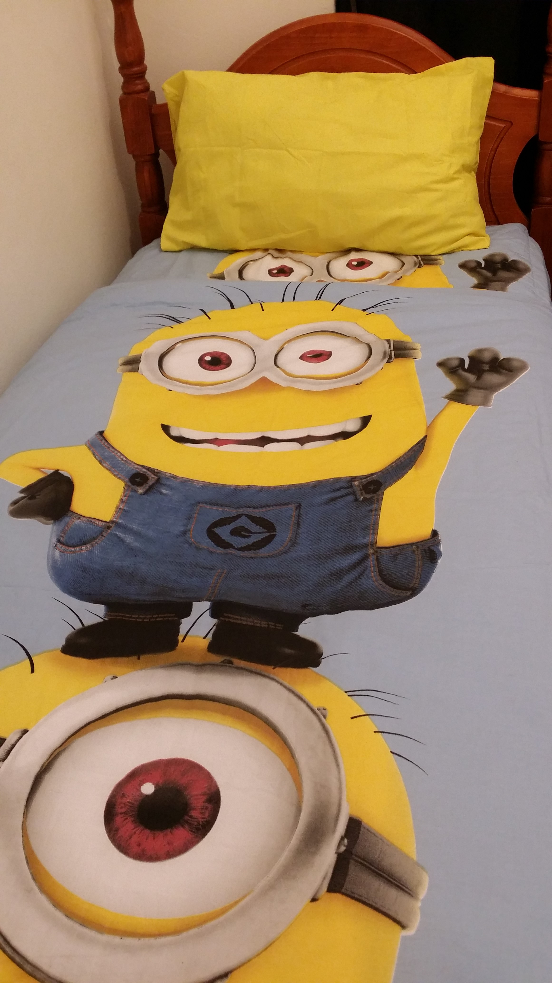 "DESPICABLE ME MINION"" Single Bed Quilt Cover Set"
